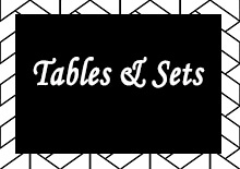 View All Tables and Sets
